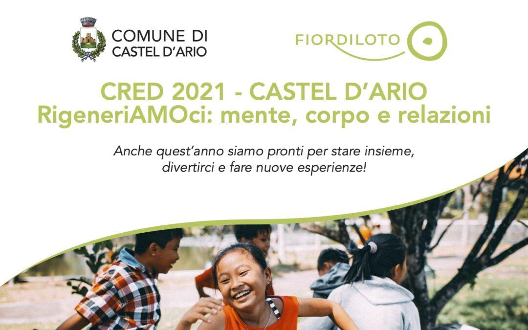 CRED 2021 – CASTEL D'ARIO, rigeneriAMOci: mente, corpo e relazioni